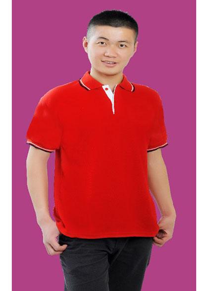 大红文化衫
