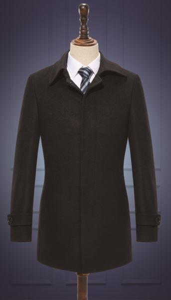 男大衣  货号:HD907