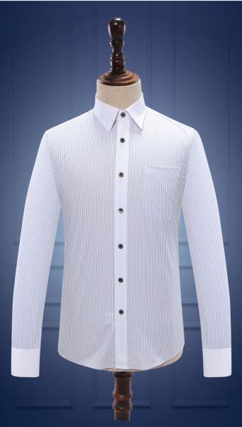 男长袖衬衫  货号:M10020