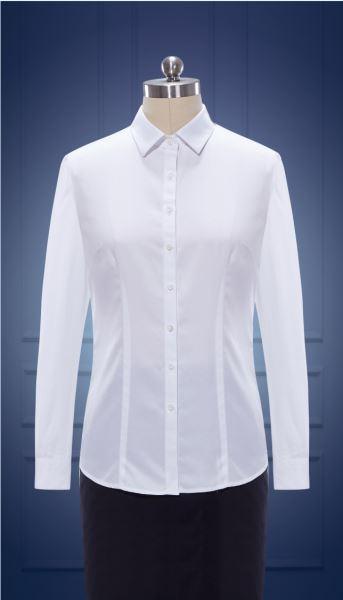 女长袖正规领衬衫  货号:NCl50