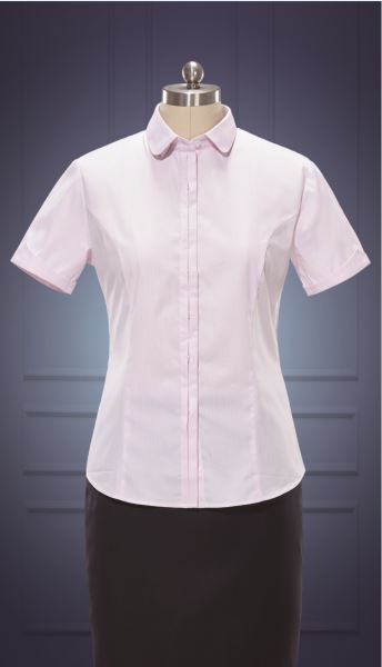 女短袖正规领衬衫  货号:NC508