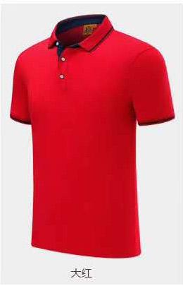 大红色T恤