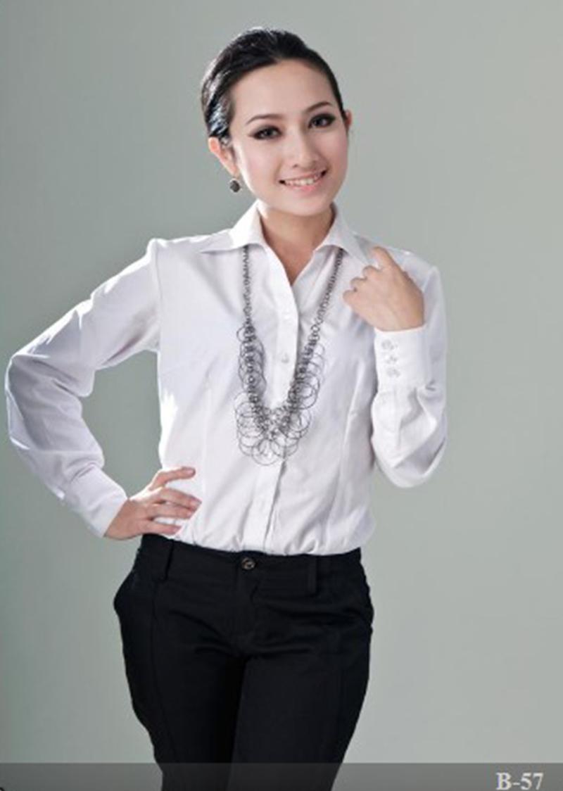 女衬衫长袖4