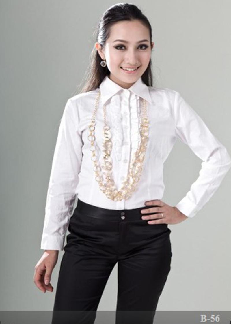 女衬衫长袖5